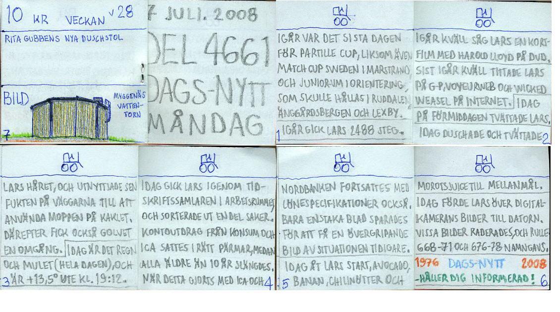 dags-nytt 7 juli 2008