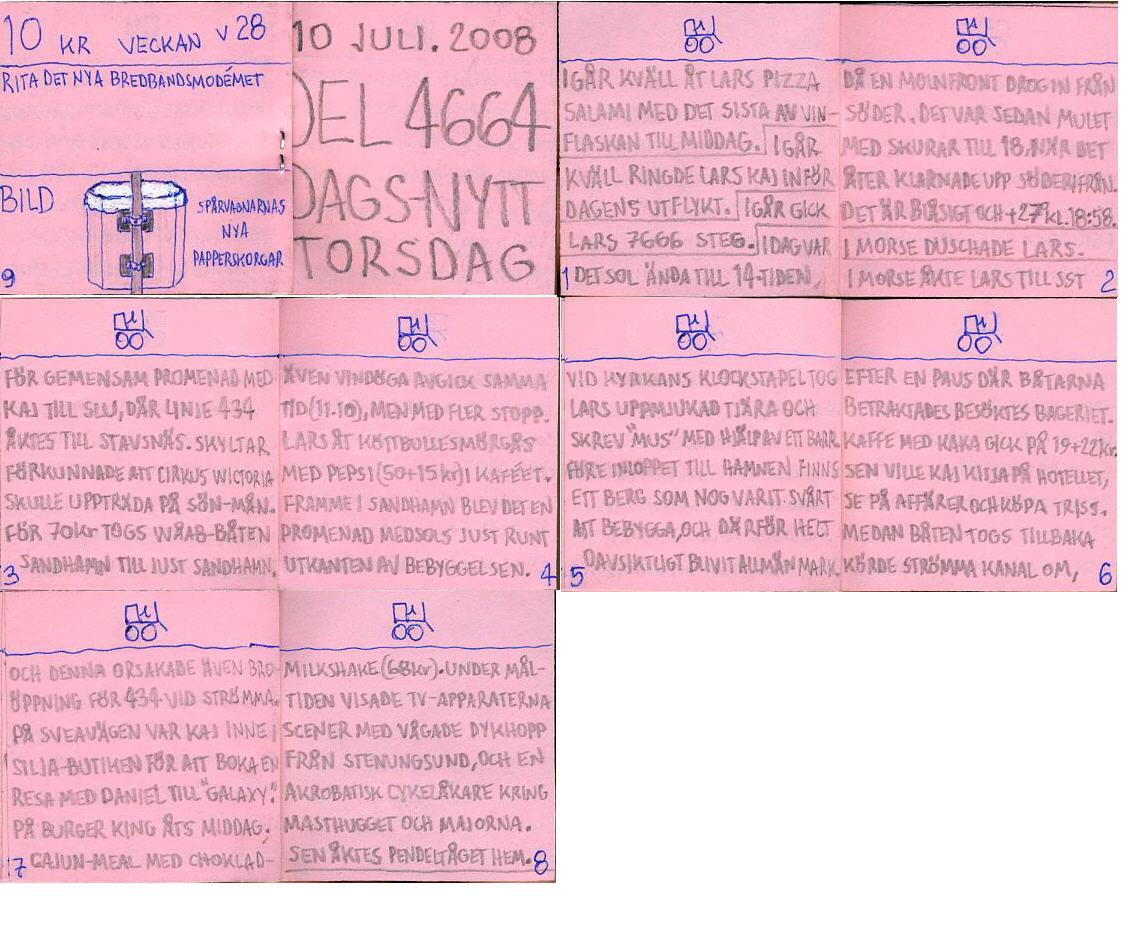 dags-nytt 10 juli 2008