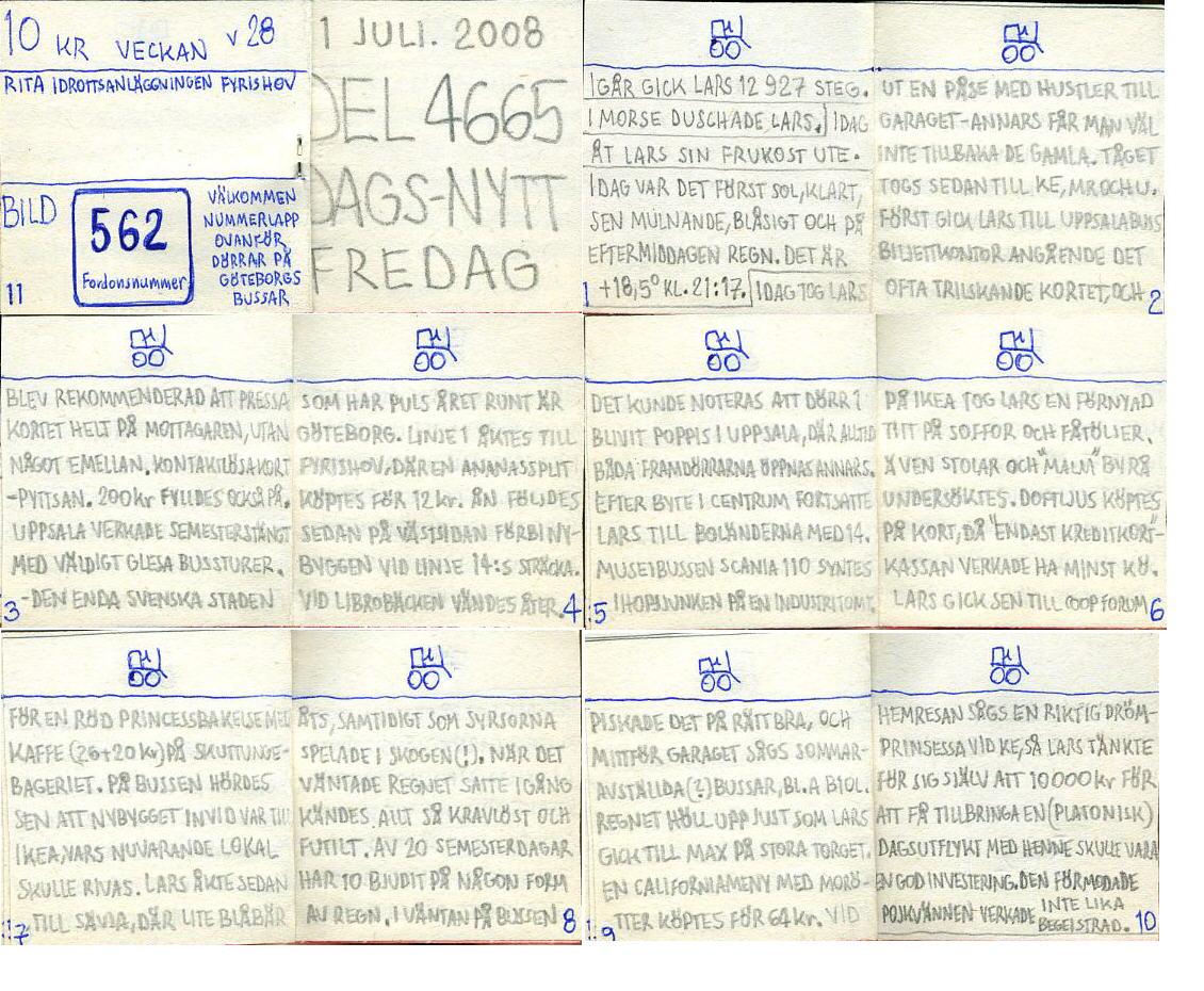 dags-nytt 11 juli 2008