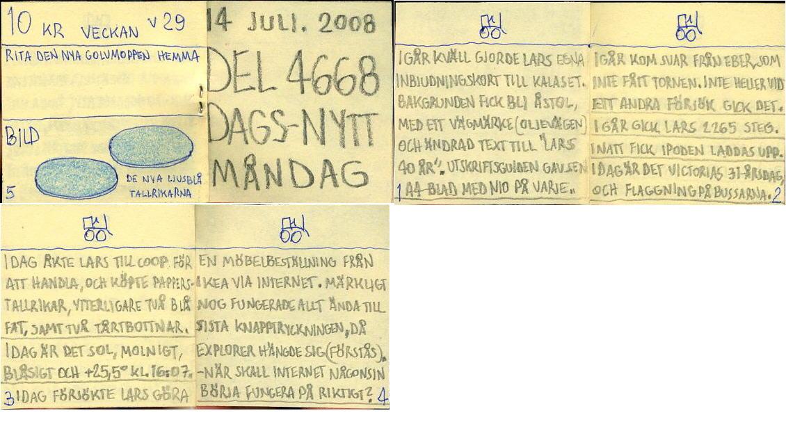 dags-nytt 14 juli 2008