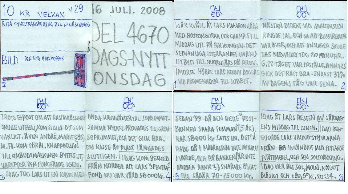 dags-nytt 16 juli 2008