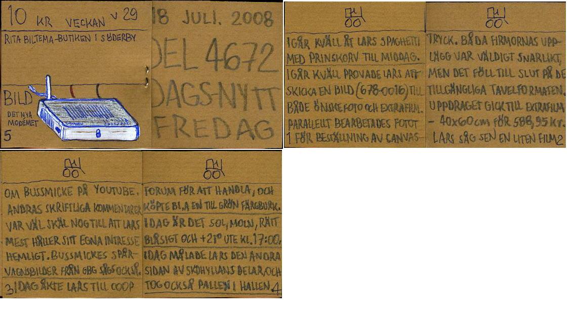 dags-nytt 18 juli 2008