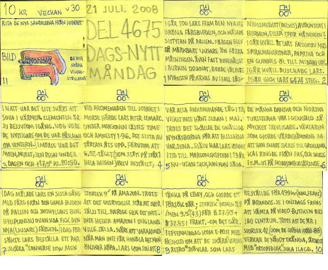 dags-nytt 21 juli 2008