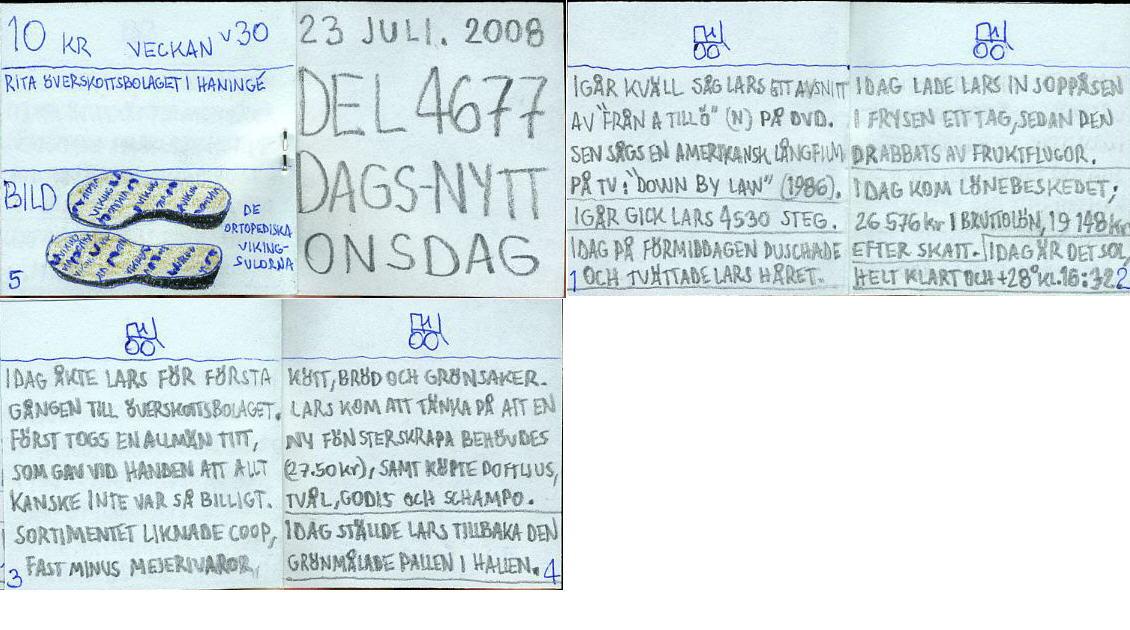 dags-nytt 23 juli 2008