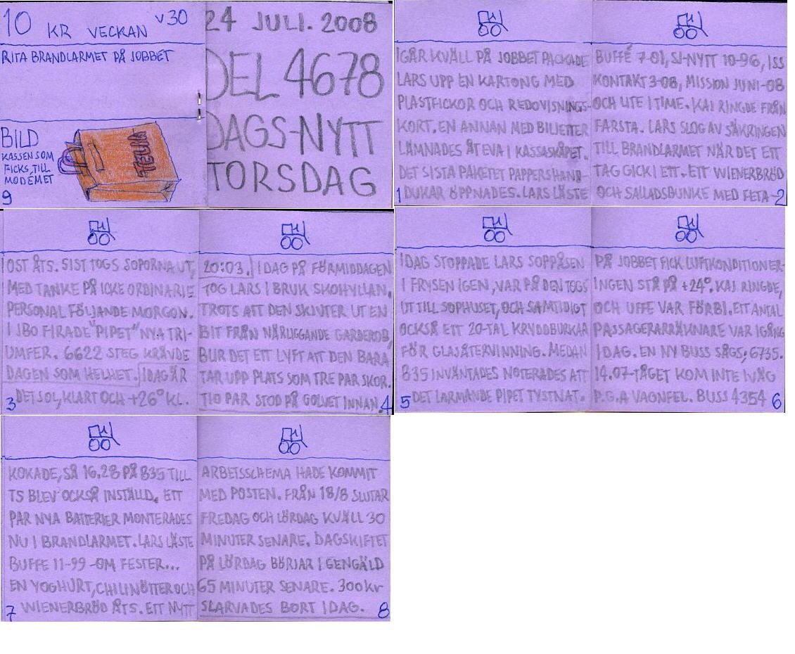 dags-nytt 24 juli 2008