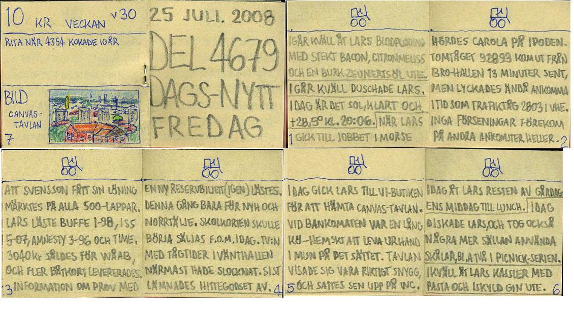 dags-nytt 25 juli 2008
