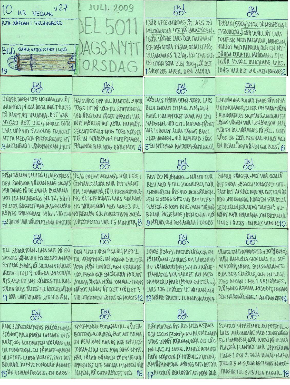 Dags-Nytt 2 juli 2009