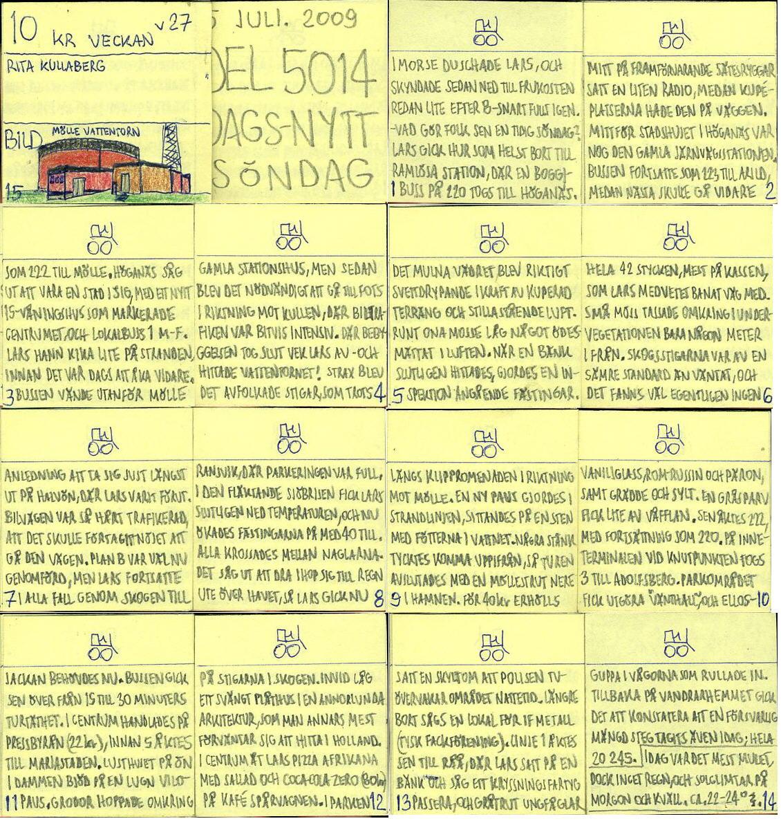 Dags-Nytt 5 juli 2009