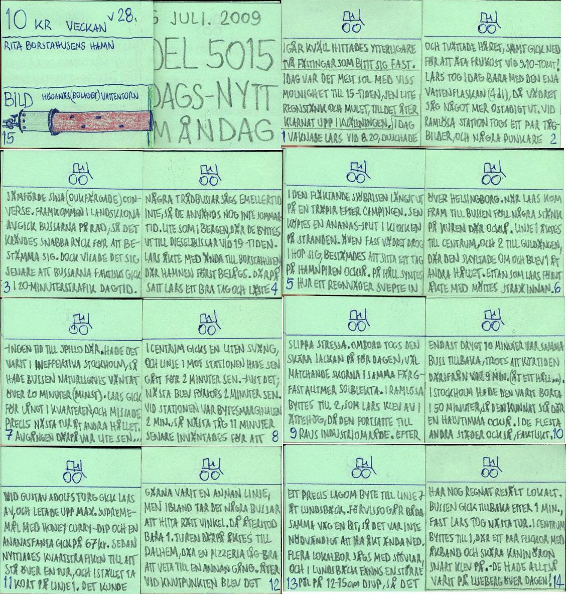 Dags-Nytt 6 juli 2009