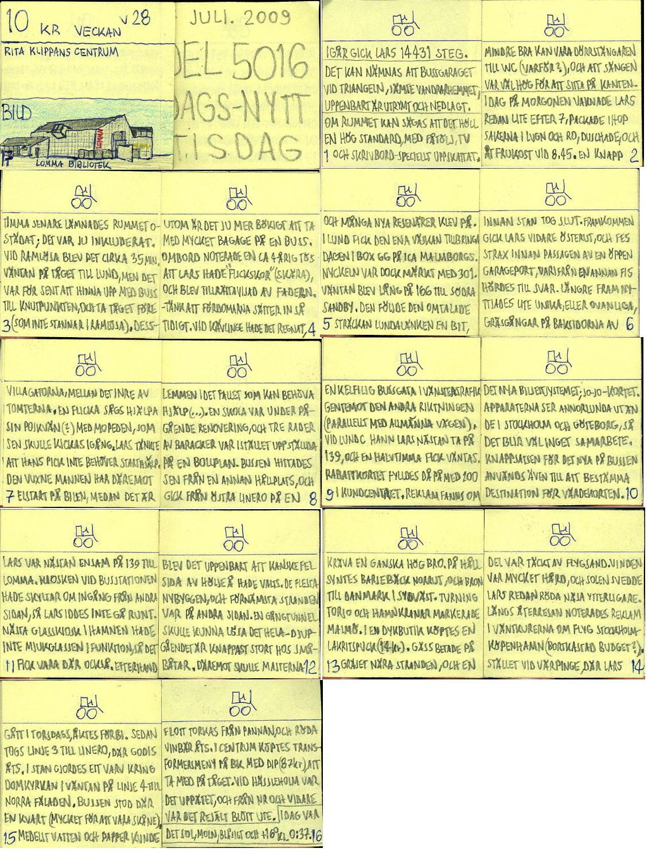 Dags-Nytt 7 juli 2009