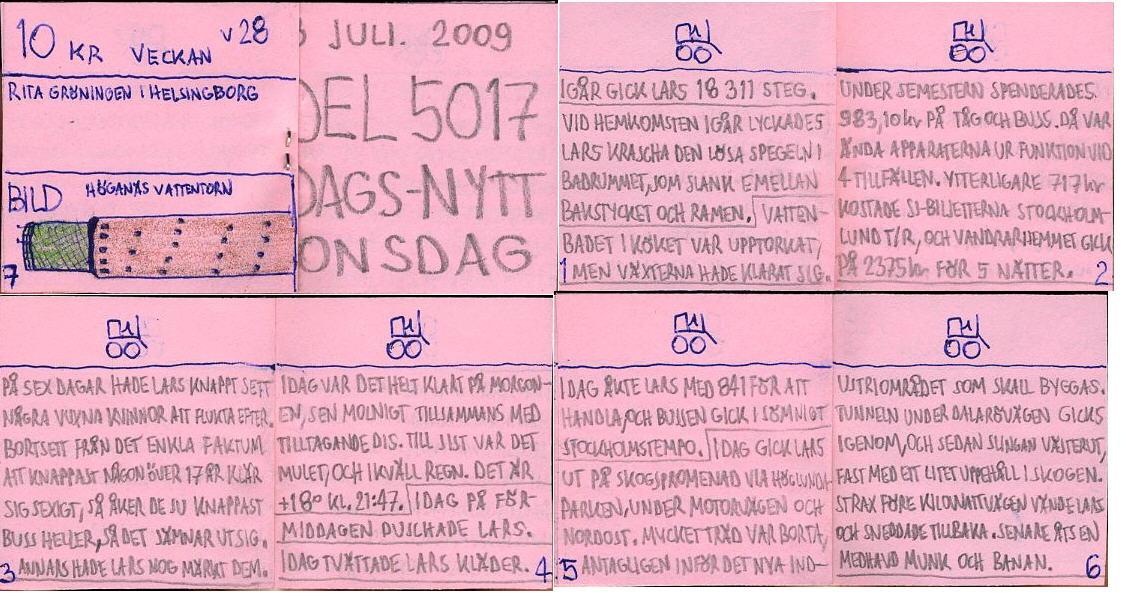 Dags-Nytt 8 juli 2009