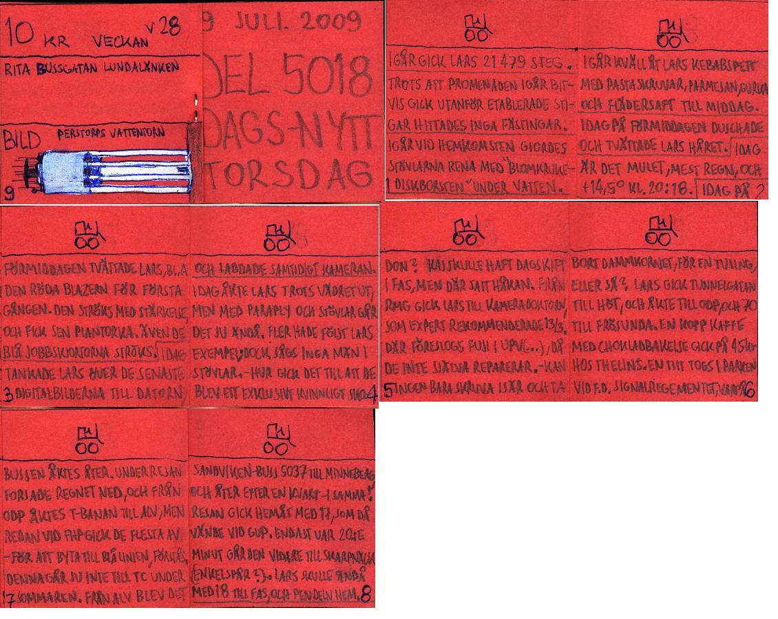 Dags-Nytt 9 juli 2009