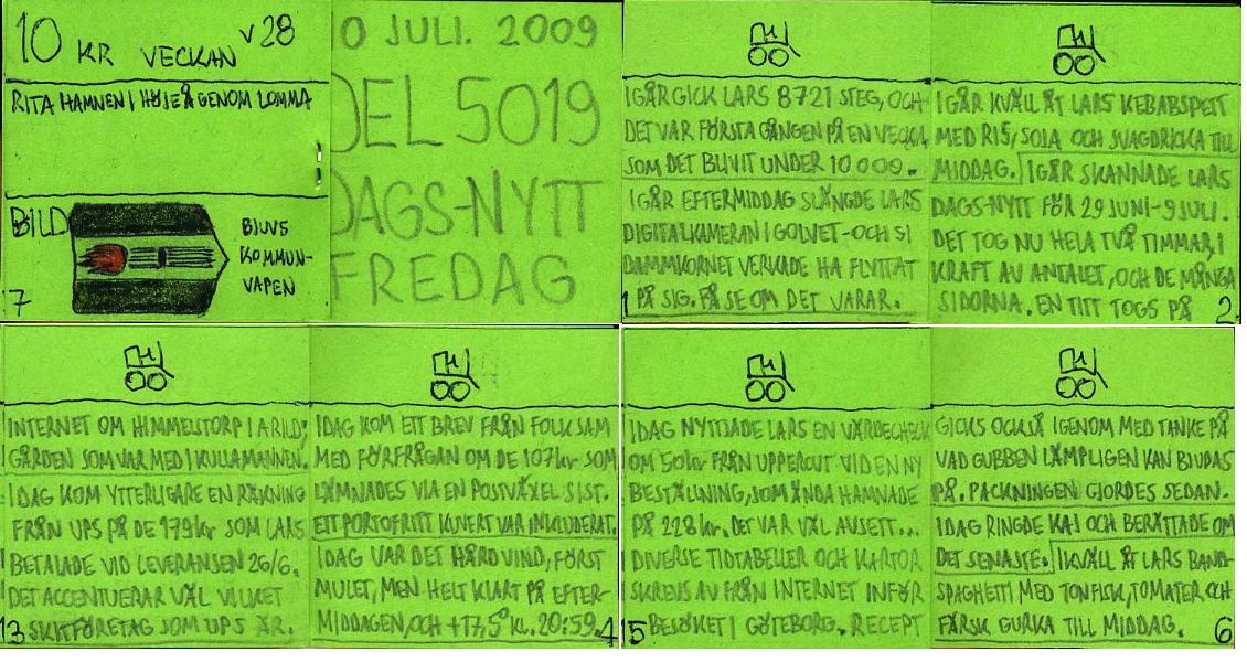 Dags-Nytt 10 juli 2009