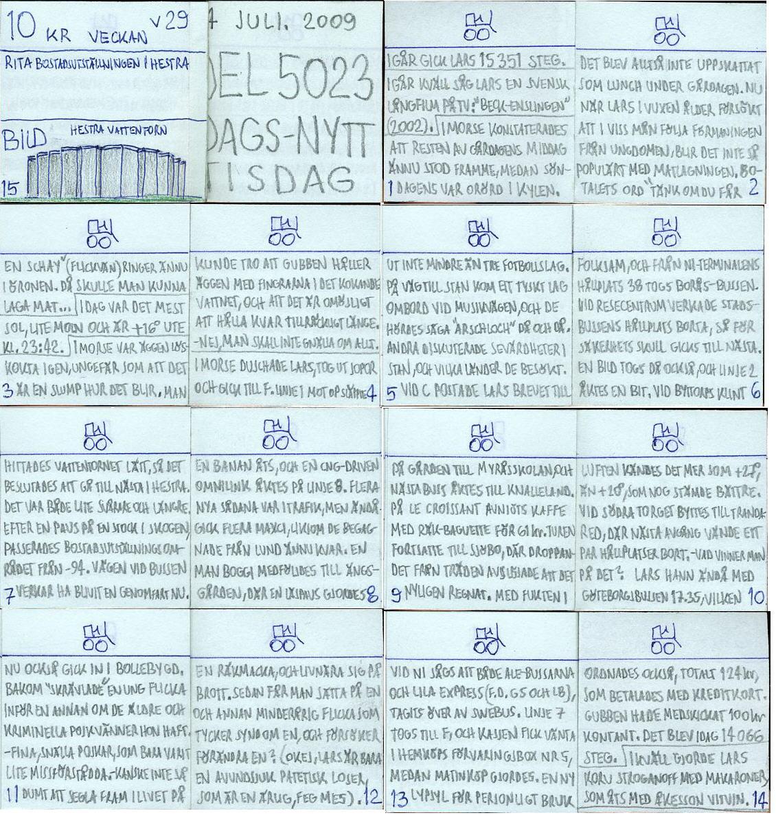 Dags-Nytt 14 juli 2009
