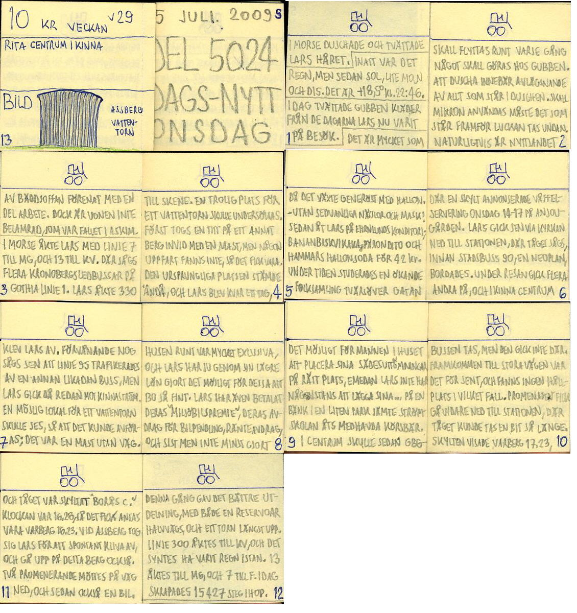 Dags-Nytt 15 juli 2009