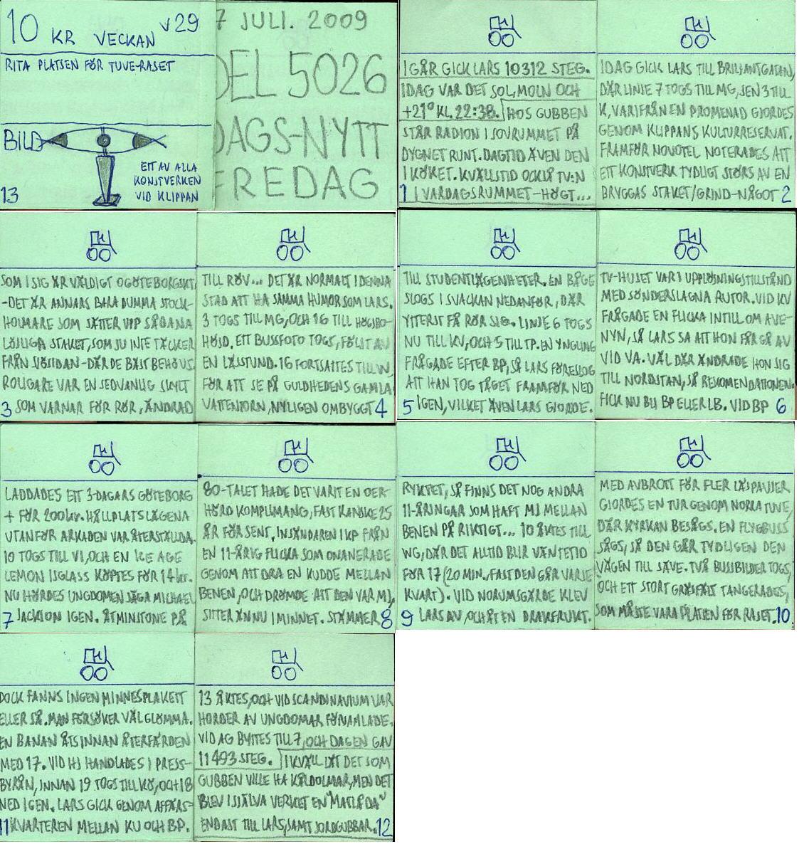 Dags-Nytt 17 juli 2009