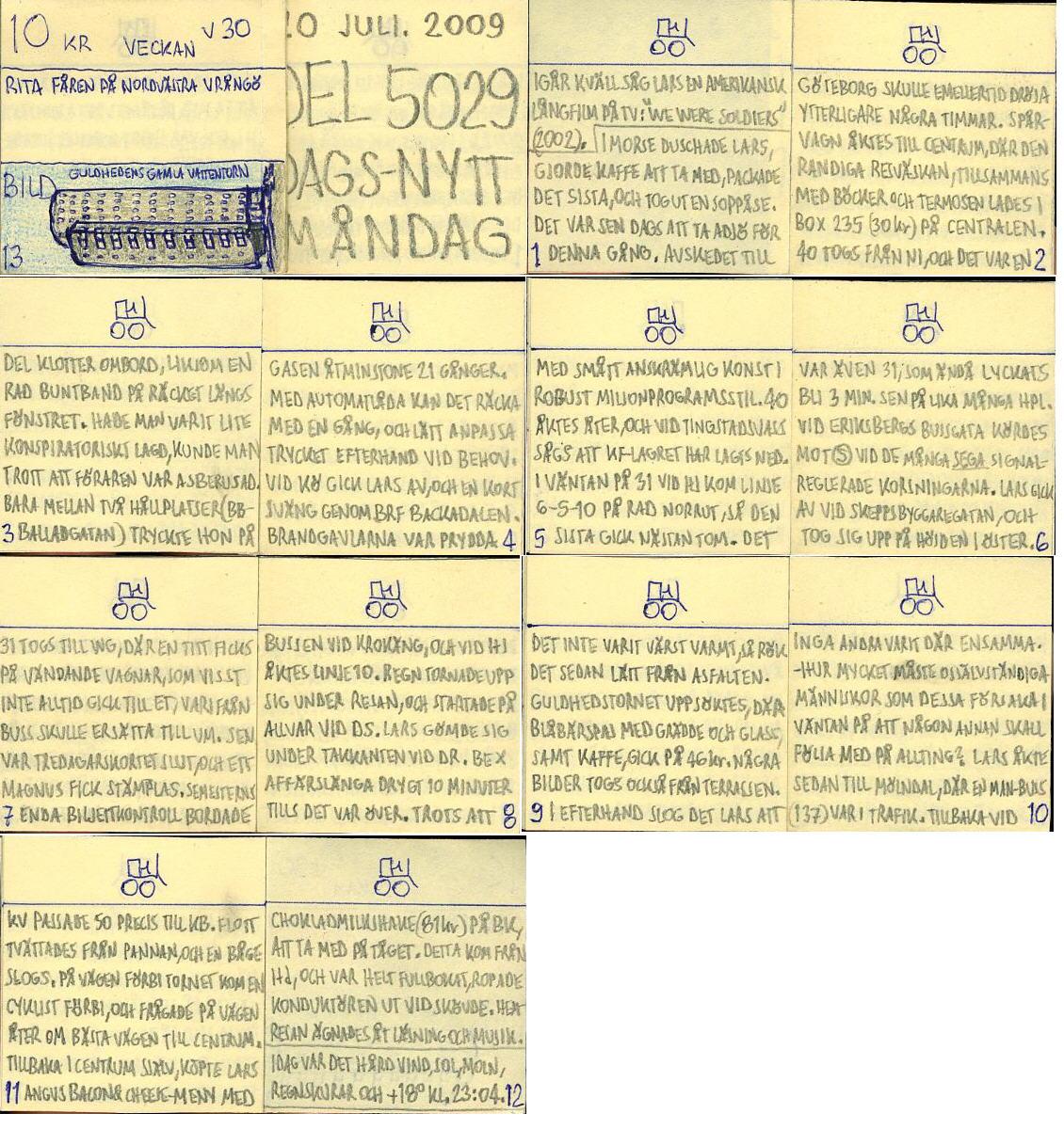 Dags-Nytt 20 juli 2009