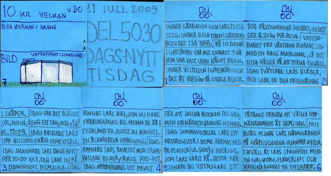 Dags-Nytt 21 juli 2009