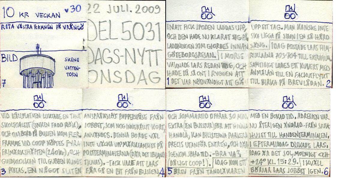 Dags-Nytt 22 juli 2009
