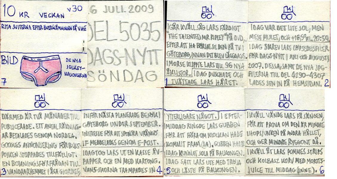 Dags-Nytt 26 juli 2009