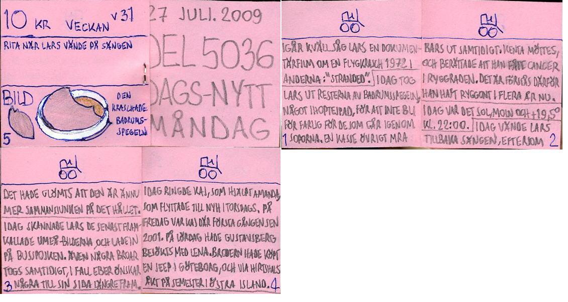 Dags-Nytt 27 juli 2009