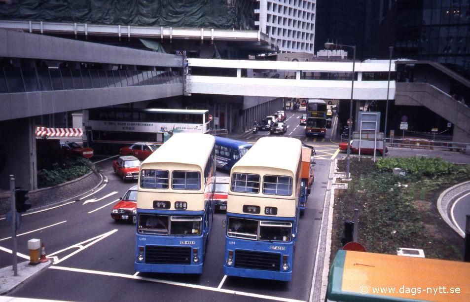 Hong-Kong, bussar.