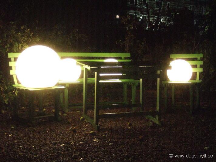 Lights in Alingsås 2011.